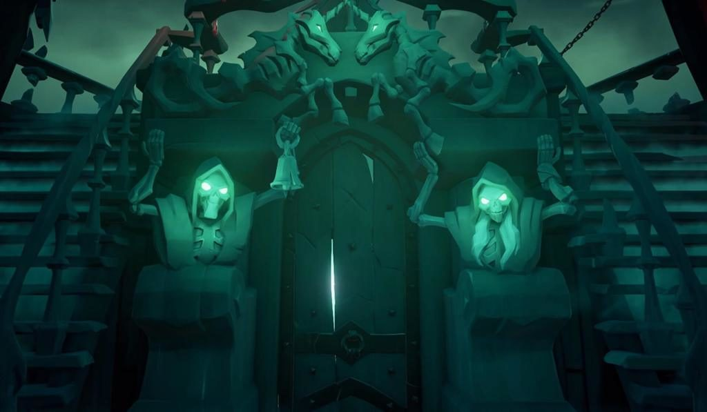 The Ferry of the Damned in Sea of Thieves
