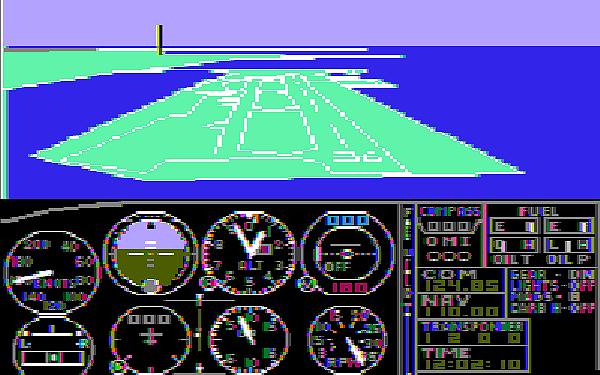 Microsoft Flight Simulator 1982