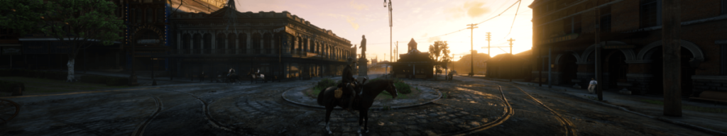 How to set triple-screen ultra-wide 5760x1080 on Red Dead Redemption 2