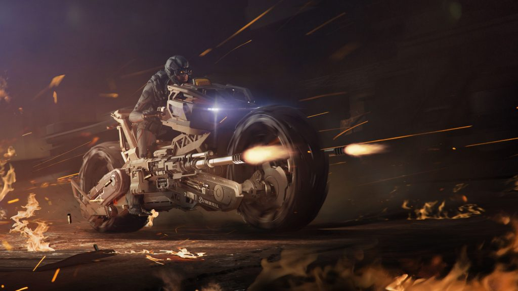 Star Citizen Tumbril Ranger Bike