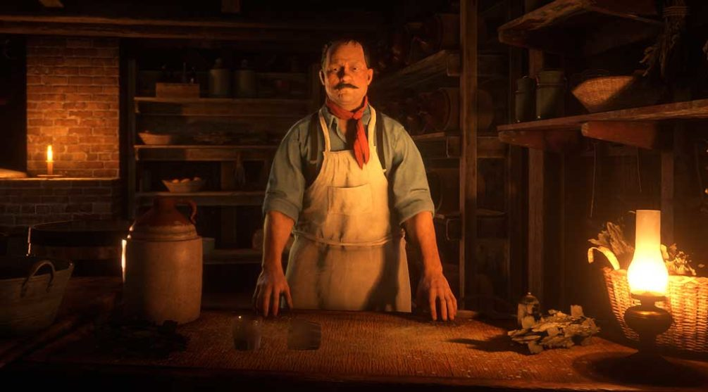 Marcel the Cook Red Dead Redemption 2 PC Online Moonshiners