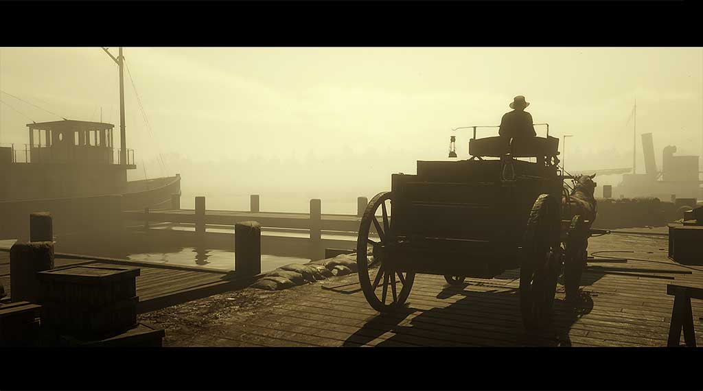 RDR2 Transporting Moonshine